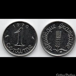 1 centime 1970 Epi