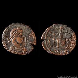 Gratian. (A.D.367-383) - Alexandrie -