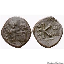 Pseudo byzantine émise à Antioche (Imitation perse) (610-630)