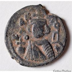 """Califat MU'AWIYA"""" 660-680 A.D. Homs (Eme..."""