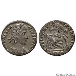 Constance II (Maiorina / Centenonialis). Heraclea. FEL TEMP reparatio RIC 90