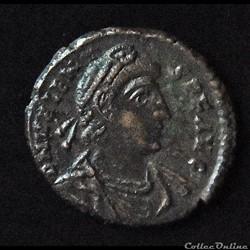 "VALENS ""Flavius Valens"" Nummus, 375 A.D ..."