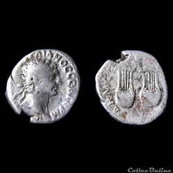 Trajan (98-117 après JC) Drachme Ligue L...