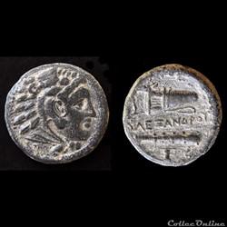 Alexandre le Grand, petit bronze, 336-323 av. J.-C
