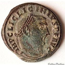 Licinius (308 - 324) Follis Frappé à Antioche