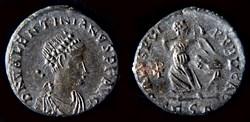 VALENTINIEN II. (375-392 AD). demi-cente...