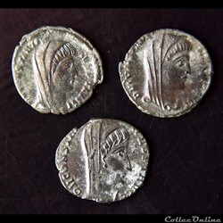 Restitutions Pour Constantin Ier sous Constantin II, Constans et Constance II