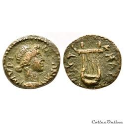 """Provinciale Romaine"" Aeolis Myrina - règne de Trajan à Hadrien, 98-138 AD"