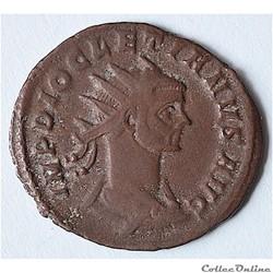 Dioclétien (284-305). Antoninien. Rome, 1ère officine, 285-286. RIC 162
