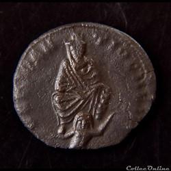 monnaie antique av jc ap romaine provinciale antioche demi follis ou demi nummus 310 311 atelier coele syrie antioche