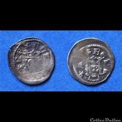 Bela IV (1235 - 1270 A.D) Obole (1/2 den...
