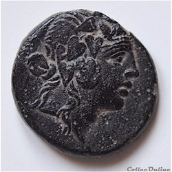 """""""Pontos Amisos"""" , Unité de Bronze sous Mithridate VI « Eupatôr » (85-65 av.jc) au Dionysos"""