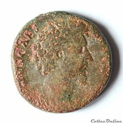 Marc-Aurèle (121 - 180) Sesterce RIC.1344