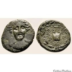 TROAS - ALEXANDRIA Unité de bronze (200 ...
