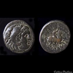 Philip III Arrhidaeus 323-317 BC Bronze au cavalier
