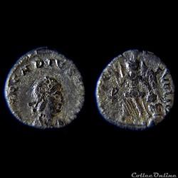 ARCADIUS (383 - 408 AD) Nummus Nicomédie...