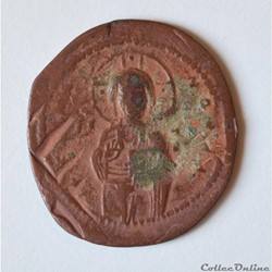 "Michael IV (1034-1041). Follis, classe C  ""Anonyme"""