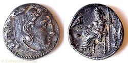 "Alexandre III, Drachme ""tête d'Héraclès""..."