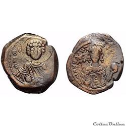 """Manuel Ier """"Comnène"""" (1143 - 1180 AD.) t..."""