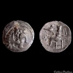 """Celtes du Danube - Imitation d'Alexandre III """"le Grand"""" (200-100 av. J.-C.)"""