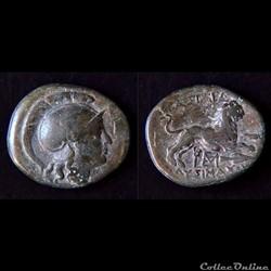 """Royaume de Thrace """"Lysimaque"""" (323 -281 av.jc) Unité de Bronze"""