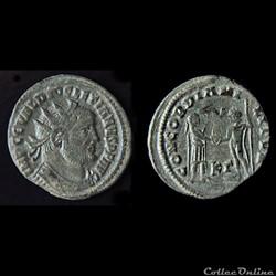 DIOCLETIEN (284-305) - Aurelianus - Ciscia - RIC.16 a