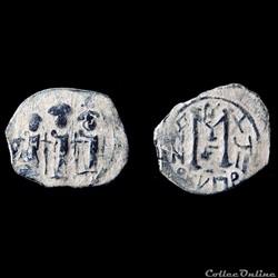"Pseudo byzantine aux trois empereurs (638-643) ""Cyprus Imitations"""