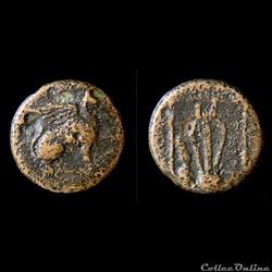Ionie Teos - Bronze au Griffon & lyre - ...