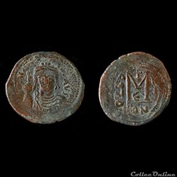 Héraclius Follis émis à Constantinople - Année III (3) 612 / 613 A.D - Sear 804