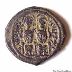 Justin II & Sophie (565-578). Follis. Nicomédie (565-578 AD)