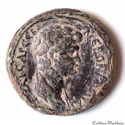 Lydie Thyateira NERO Bronze au Labrys Apollon Tyrimnos (50-54 ap. JC)