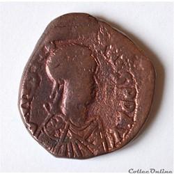 JUSTINIEN Ier  (527-565) Follis Constant...