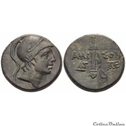 """""""Pontos Amisos"""", Unité de Bronze sous Mithradates VI Eupator (120 - 64 av.jc.)"""