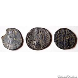 Abd Al-Malik (686-705) Calife debout 3 f...