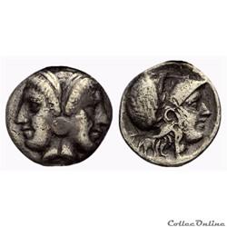 MYSIA. Lampsakos. Diobole (400-300 BC)