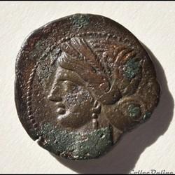 Zeugitane Carthage (221 - 210 Av. JC) tê...