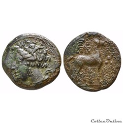 Zeugitane (400-350 AV JC), Bronze Tanit ...