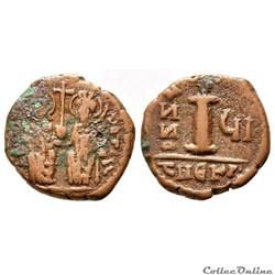 Justin II et Sophie, Décanummium (570/571) Theoupolis (Antioche) - Inédite ?