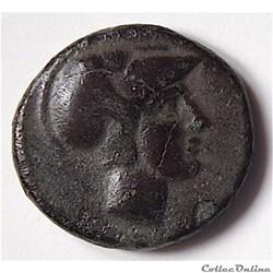 Démétrios Poliorcète (306-283 av. J.-C.) Chalque de Milet (Ionie)