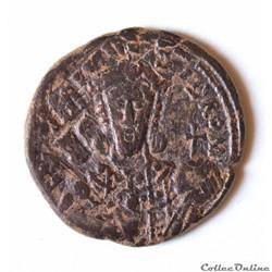 Constantin VII et Romain I (Co-empereur), follis type 5, Constantinople Sear 1761