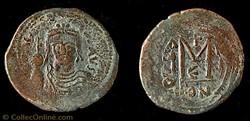 Héraclius Follis émis à Constantinople -...