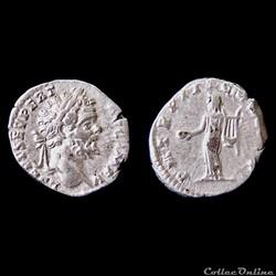 SEPTIME SEVERE (193-211) Rome - Denier