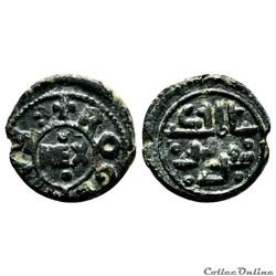 Sicile (royaume de), Tancrède et fils fils Roger, follis, s.d. (1191-1193), Messine.
