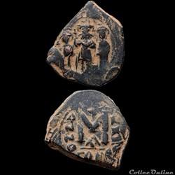 Heraclius, Constantin et Heraclonas (614...