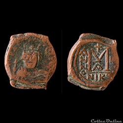 HERACLIUS(610 - 641)Héraclius seul(610-613)Follis611-612 (Année II)Sear 833