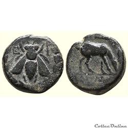 IONIE, EPHESE, AE bronze, vers 280-258 av. J.-C.