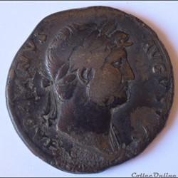 Hadrien (117 - 138) Sesterce - RIC II 632 -