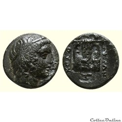 Ionia Kolophon (BC 375-330) AE 10 - Apollon à la Lyre