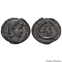 Constance II nummus (347-348 A.D) - Antioche - RIC 114 A