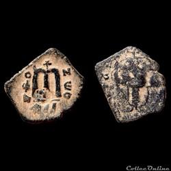 Constans II - follis émis à Constantinop...